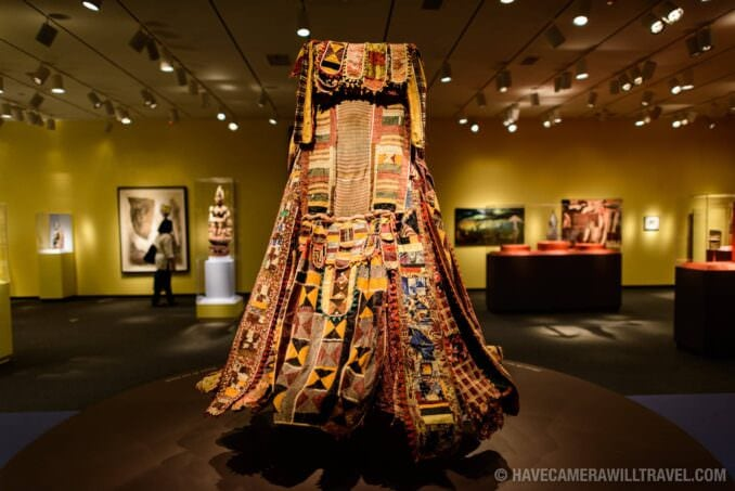 183-14533732 Smithsonian National Museum of African Art Dress.