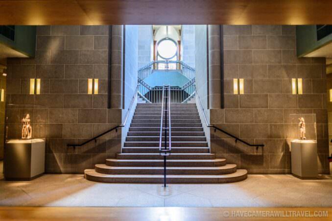 183-14595439 Smithsonian National Museum of African Art Stairway.
