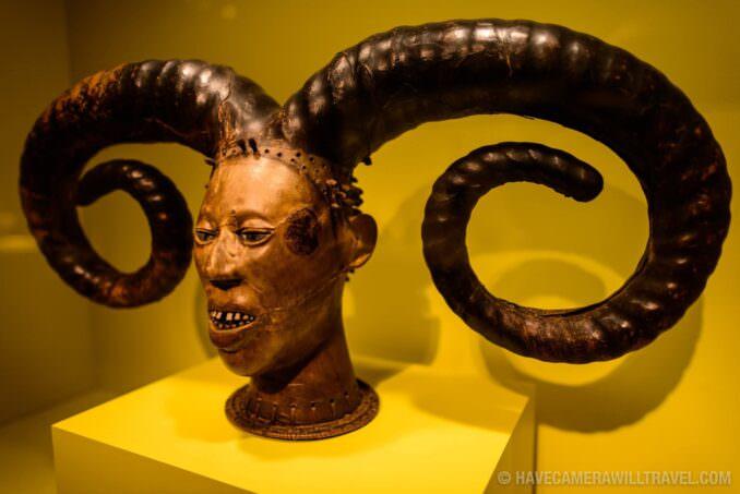 183-15012344 Smithsonian National Museum of African Art Nigerian Mask.