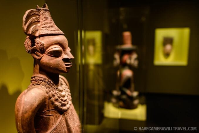 183-15065059 Smithsonian National Museum of African Art Clay Statue.