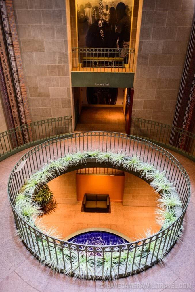 183-15100161 Smithsonian National Museum of African Art Atrium.