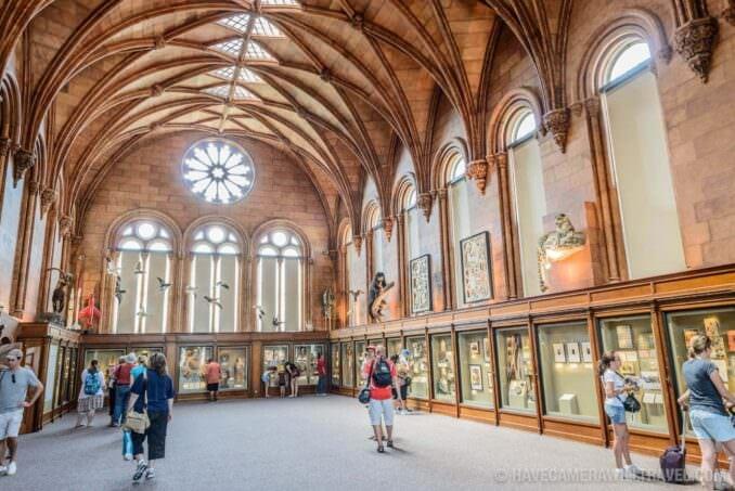 183-15483589 Smithsonian Castle West Wing Exhibit Hall.