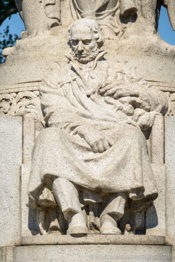 184-133218142 John Ericsson National Memorial Seated Figure.