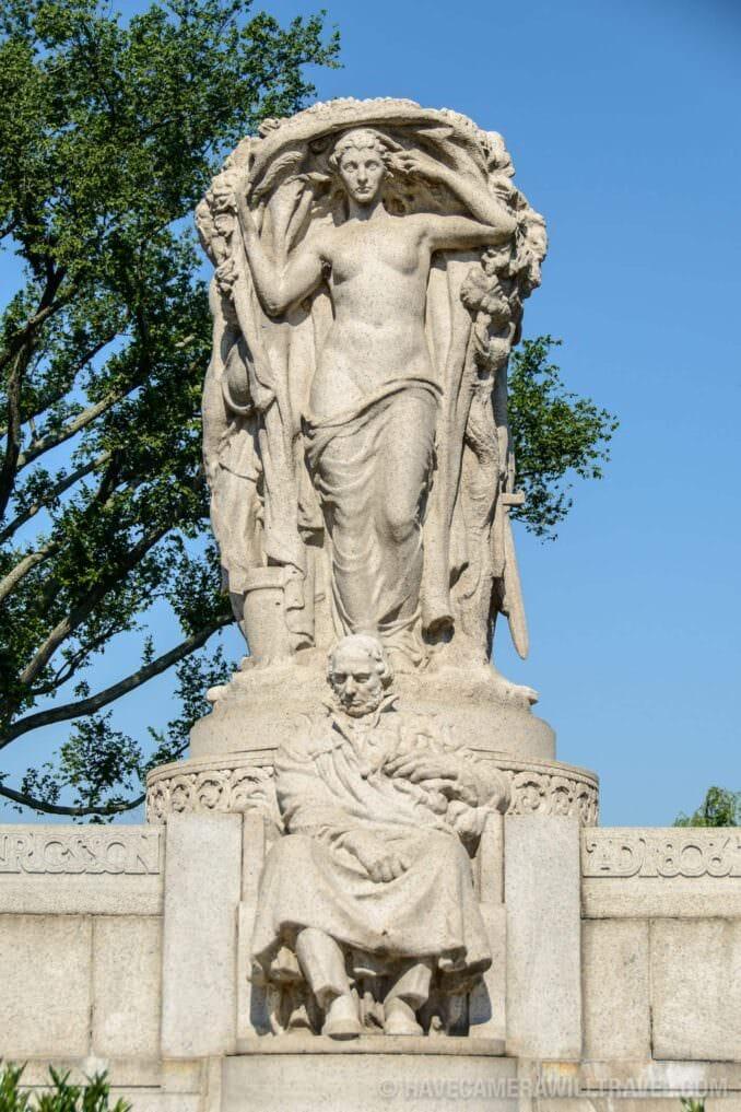 184-133230145 John Ericsson National Memorial with Vision Figure.