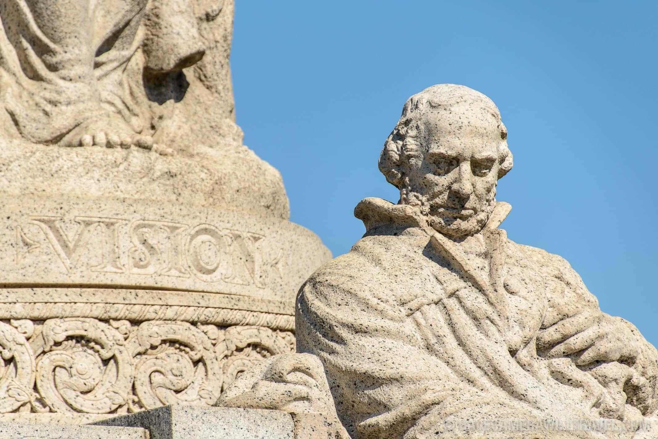 184-133428159 John Ericsson National Memorial with Vision Inscription.