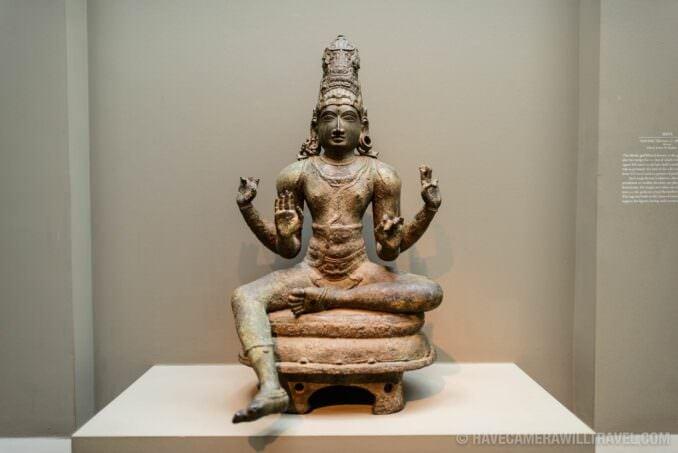 185-141900756 Sackler Gallery Shiva Bronze Statue.