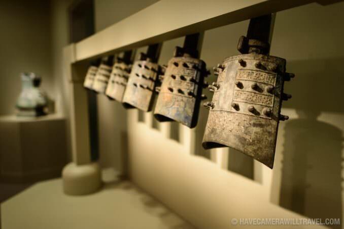 185-144509782 Sackler Gallery Chinese Bronze Bells.