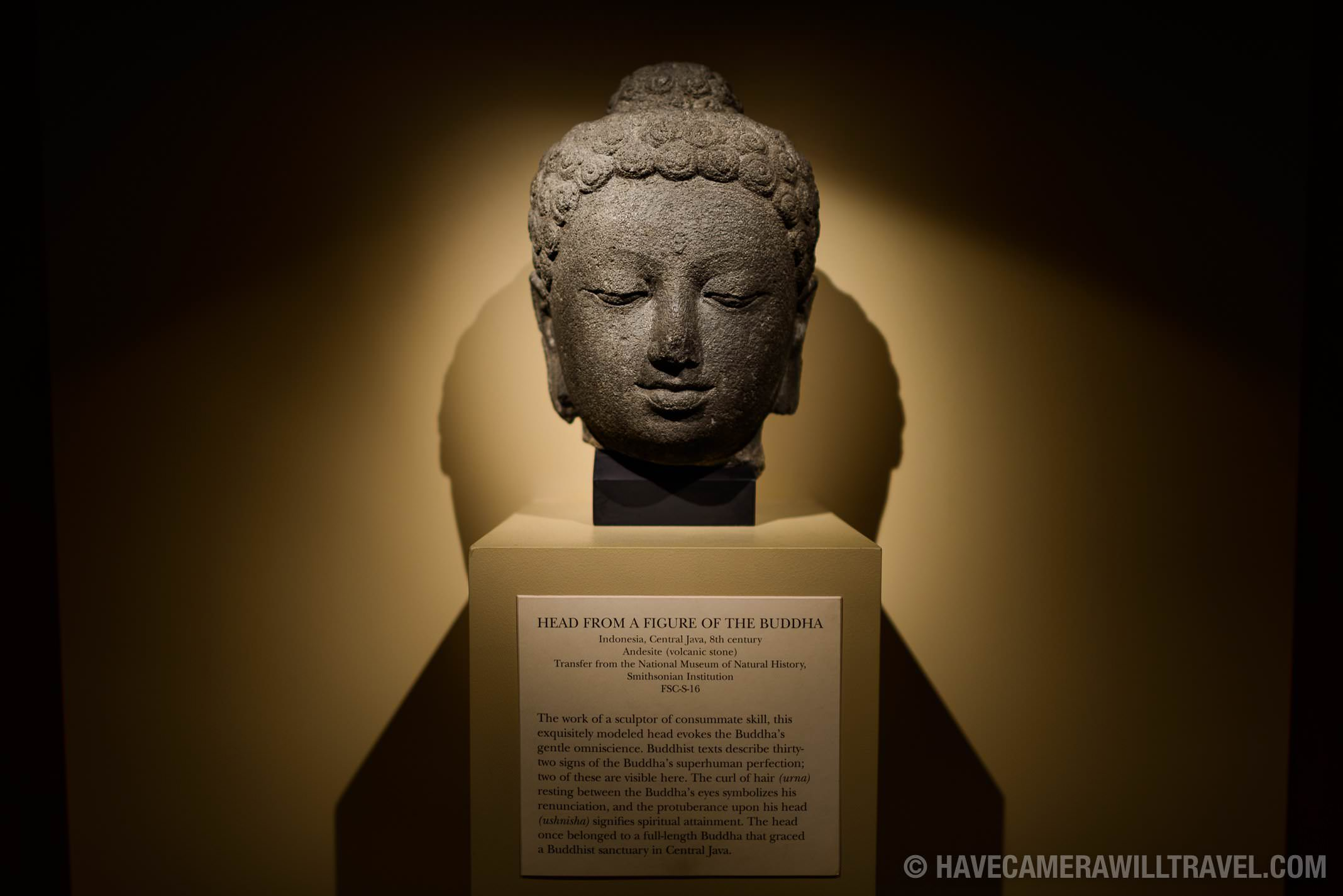 185-150554797 Sackler Gallery Buddha Head.