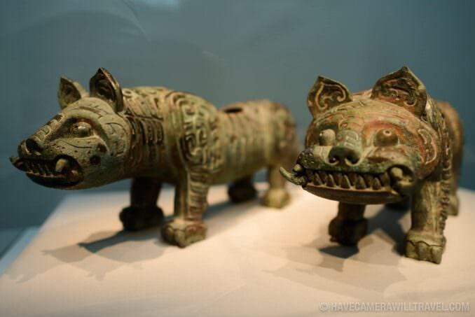 185-153338818 Freer Gallery of Art Animal Statues.