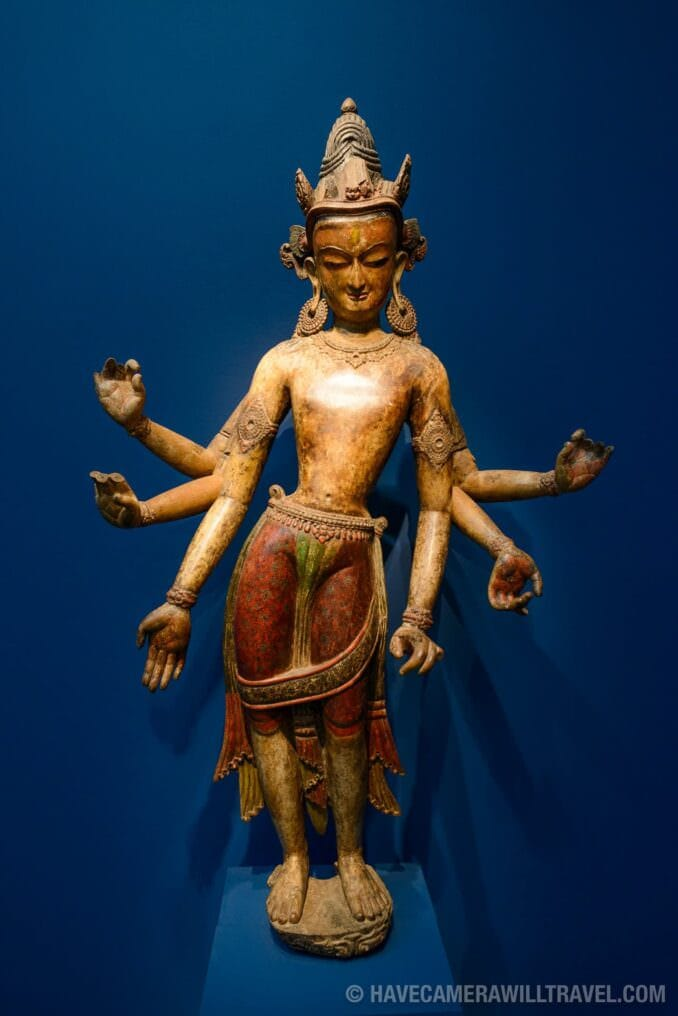 185-160028873 Freer Gallery of Art Wooden Statue.