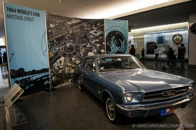 1964 Ford Mustang at Smithsonian National Museum of American History, Washington DC
