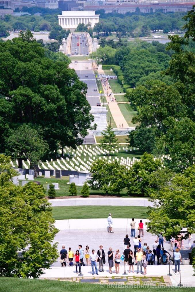 Arlington Cemetery view