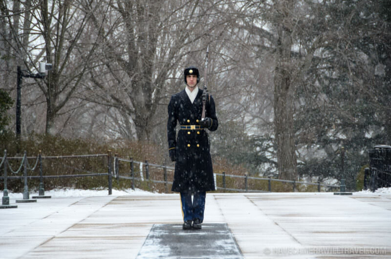 Arlington National Cemetery Tomb of the Unknowns Guard