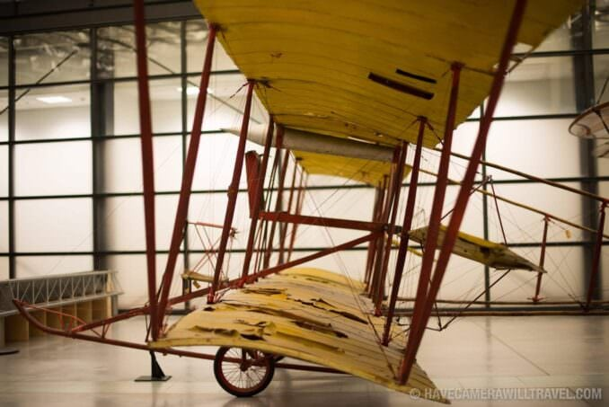 Baldwin Red Devil at the Smithsonian National Air and Space Museum