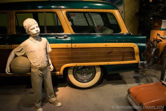Car Exhibit at Smithsonian National Museum of American History, Washington DC