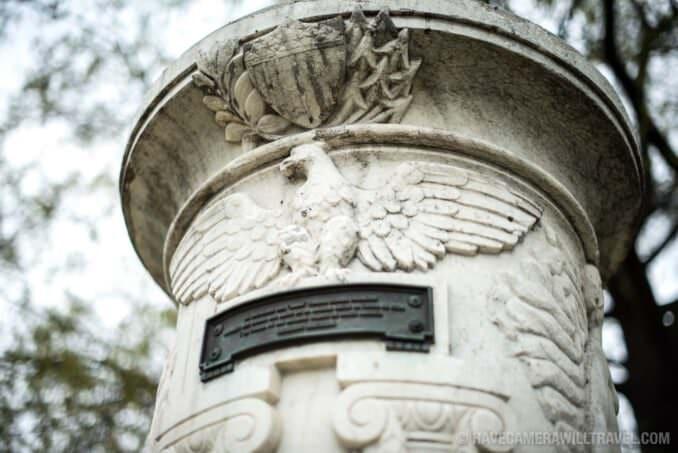 Cuban Friendship Urn Eagle