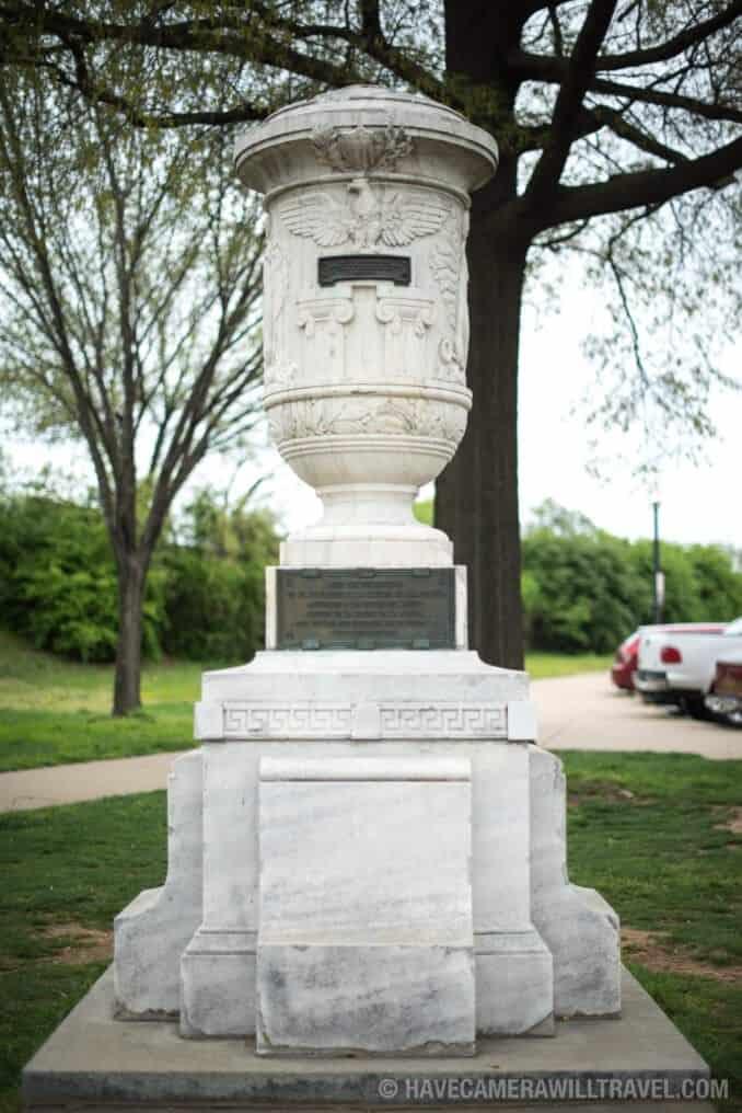 Cuban Friendship Urn on Pedestal
