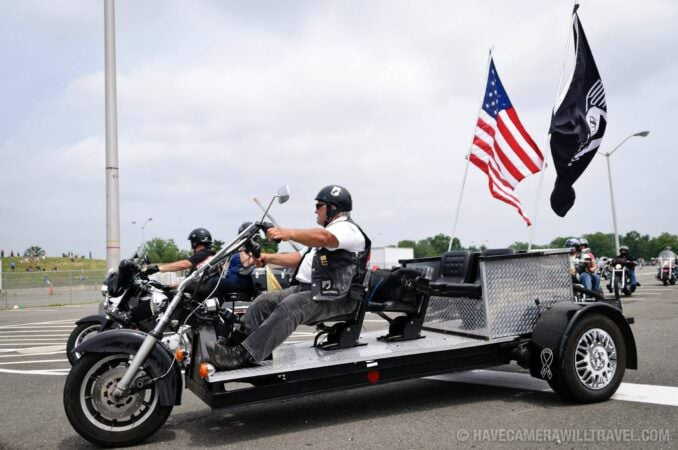 Customized Trike Rolling Thunder Motorcycle Rally