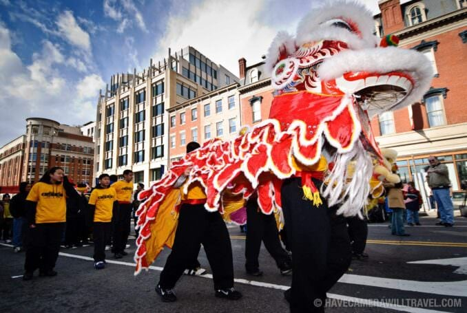 Dragon in Chinese New Year Parade