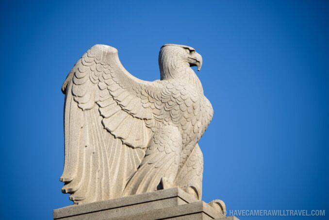 Eagle Statue at Arlington Cemetery