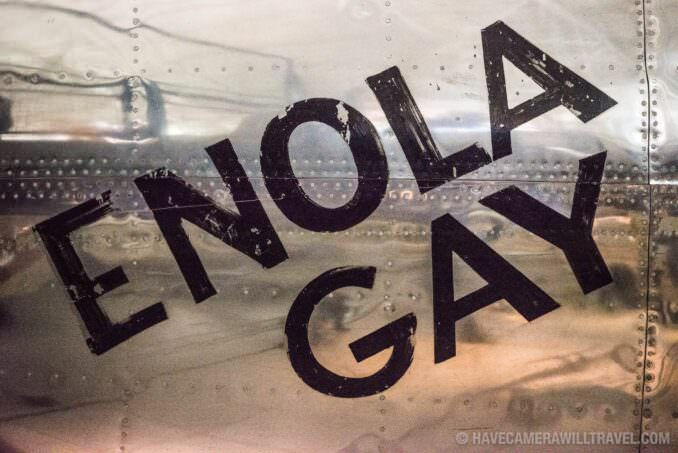 Enola Gay at the Smithsonian National Air and Space Museum