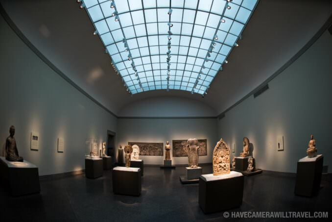 Exhibits at the Freer Gallery of Art