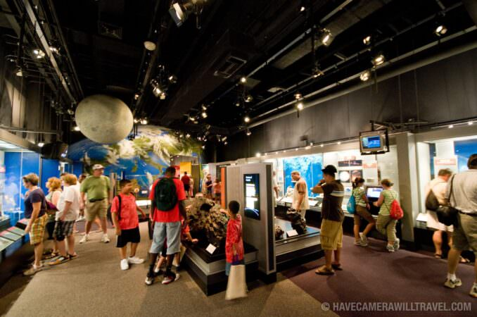 Exhibits in Smithsonian Natural History Museum