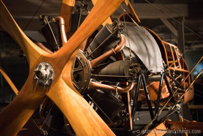 FE8 World War I Plane at the Smithsonian National Air and Space Museum in Washington DC