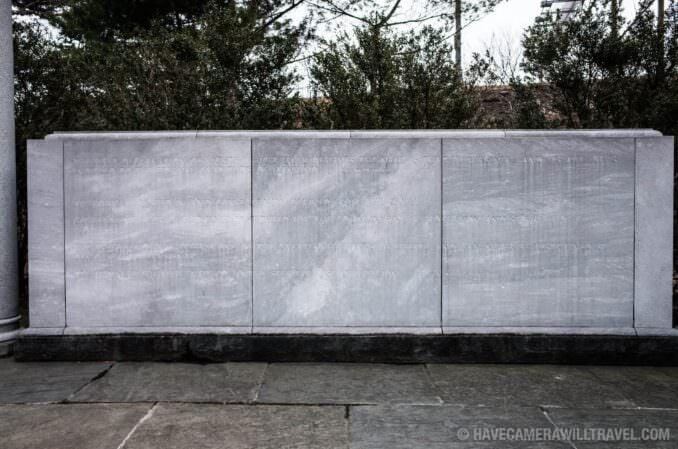 George Mason Memorial in Washington DC