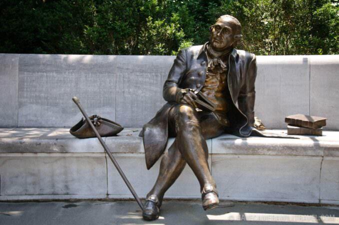 George Mason Memorial Statue