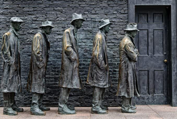 Great Depression at the FDR Memorial