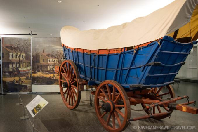 Historic Wagon at Smithsonian National Museum of American History, Washington DC