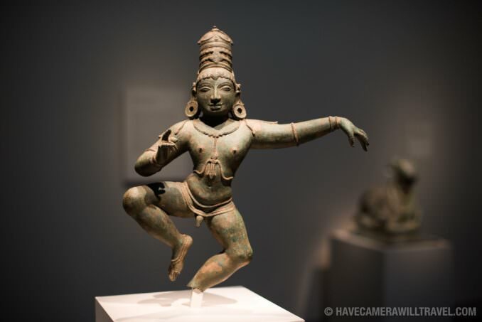 Indian Bronze Statuette at the Freer Gallery of Art