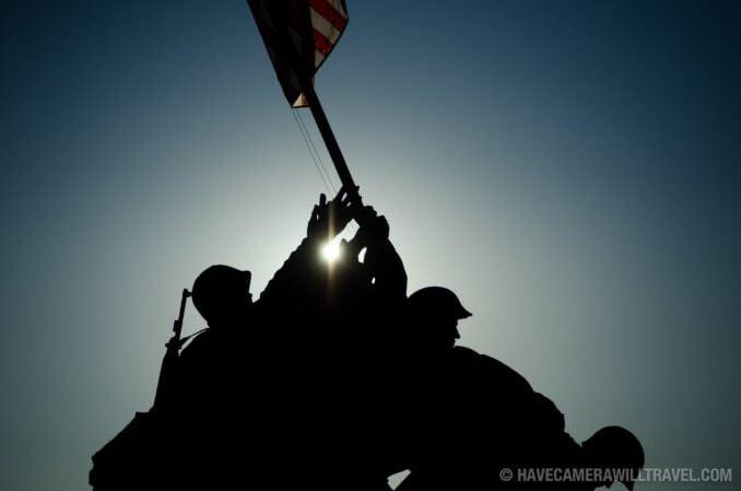 Iwo jima Memorial (Marine Corps Memorial) Sunrise