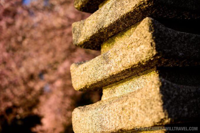 Japanese Pagoda at the Tidal Basin in Washington DC