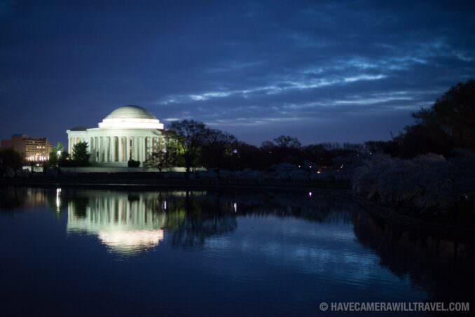 Jefferson Memorial April 11, 2015 Before Dawn