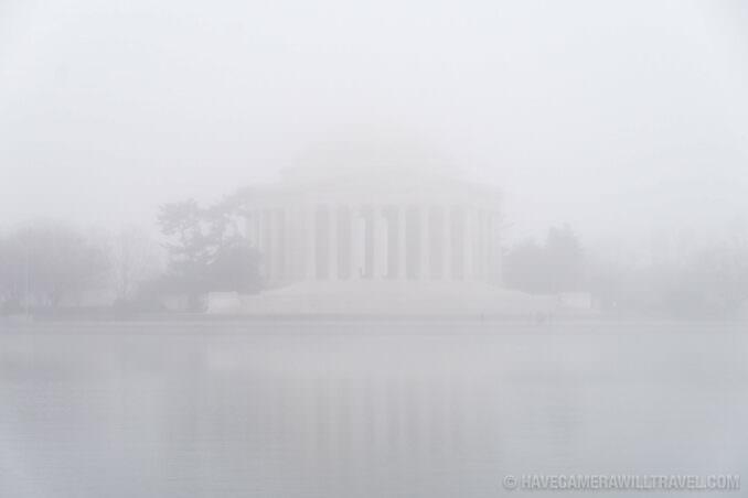 Jefferson Memorial in the Mist