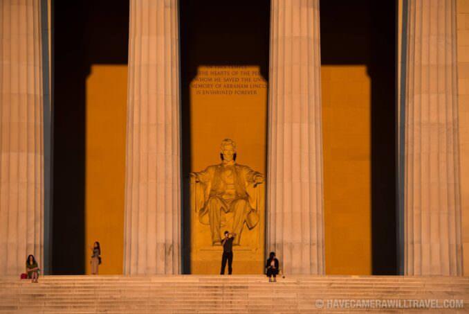 Lincoln Memorial Equinox Sunrise