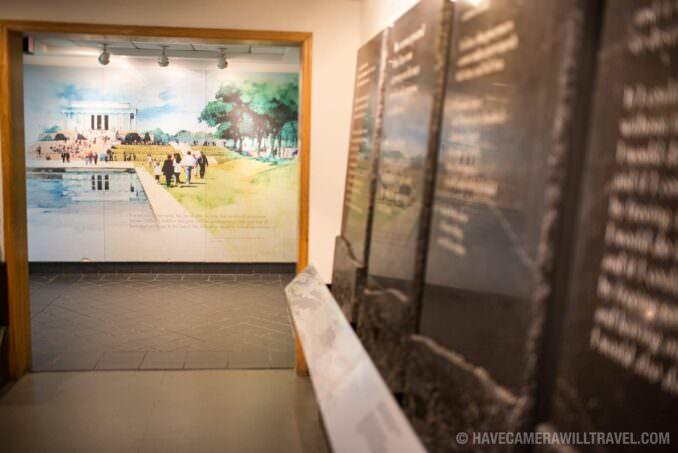 Lincoln Memorial Exhibits