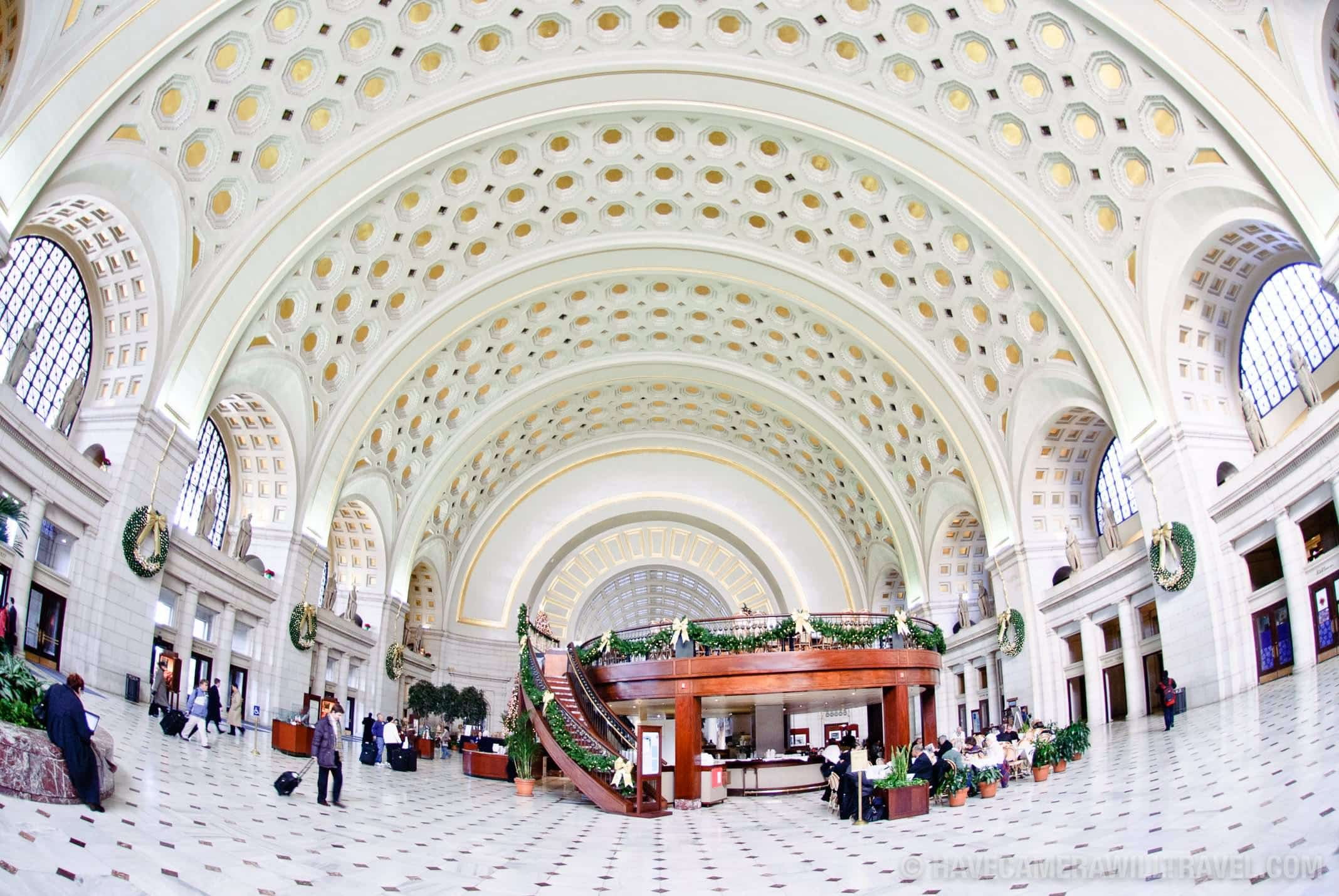 Main Hall of Union Station Washington DC
