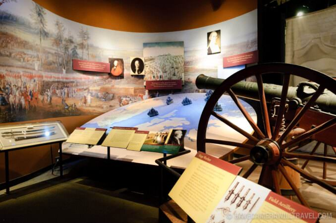 Military Campaigns Exhibit