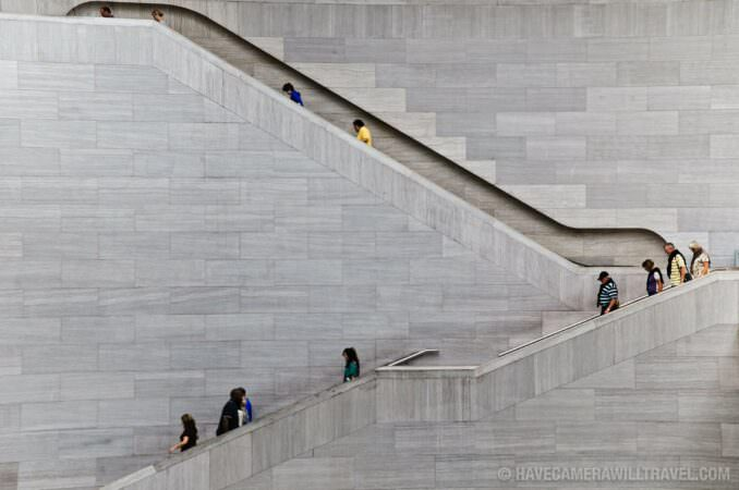 National Gallery of Art East Building stairs
