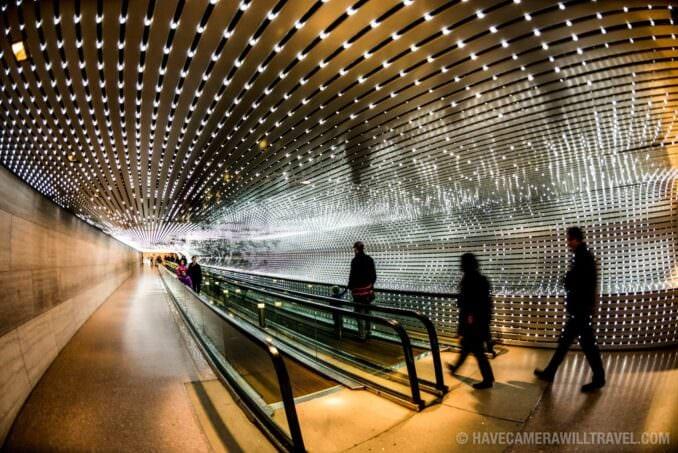 National Gallery of Art Lights Installation Multiverse
