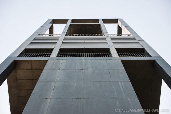 Netherlands Carillon Arlington VA Looking Up