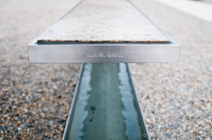 Pentagon Memorial Close-Up