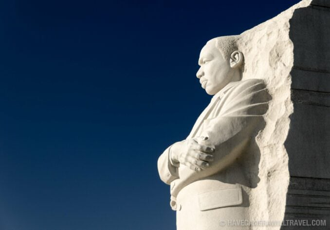 Photo of Martin Luther King Jr Memorial in Washington DC