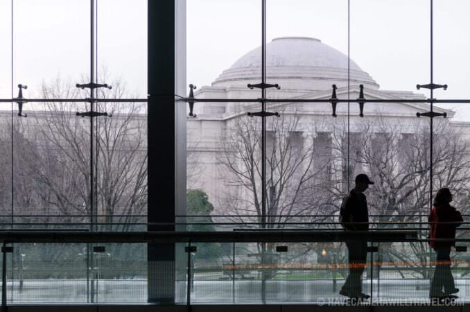 Photo of National Gallery of Art as seen from Newseum