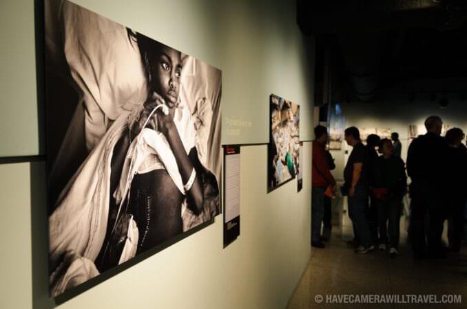 Photo of Newseum Photojournalism Exhibit