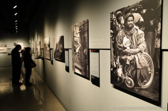 Photo of Photojournalism Gallery at the Newseum in Washington DC