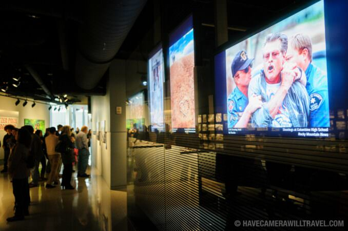 Photo of Pulitzer Price Photographs Gallery at the Newseum in Washington DC
